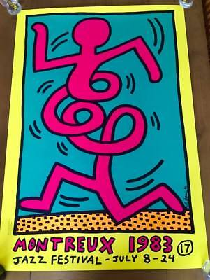 3 Keith Haring (Triptych) - Montreux Jazz Festival 1983