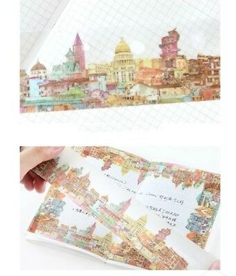 Japan Washi Tape Building in the City 40mm wide sold by meter MT165
