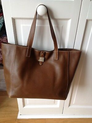 9f779bda57aa ... new zealand mulberry tessie tote bag in oak soft small grain leather  excellent condition dc191 eaca2