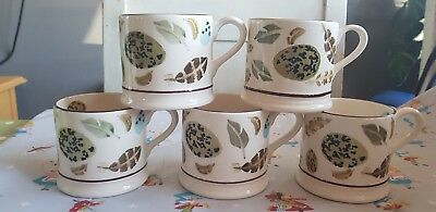 Emma Bridgewater - Mary Fedden - Egg And Feather Baby/Small Mugs - Discontinued
