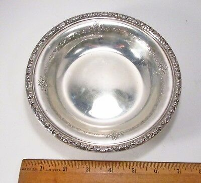 Vintage 1942 Towle Old Master Pattern 48512 Sterling Silver Bon Bon Serving Bowl