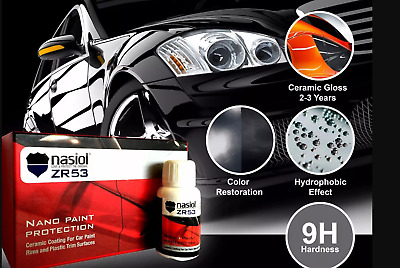 Nasiol ZR53 High Quality Nano car Ceramic Coating 9H Paint Ceramic Protection.