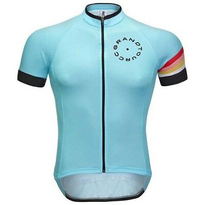 Grand Tour Cycle Racing Series Blanc , Maillots Grand tour cycle , cyclisme