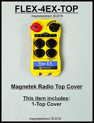 FLEX-4EX-TOP Front-Enclosure for Transmitter Magnetek remote control