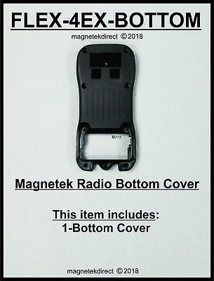 FLEX-4EX-BOTTOM back Enclosure cover for Magnetek flex Gen1 Transmitter