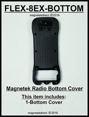 FLEX-8EX-BOTTOM back Enclosure cover for Magnetek flex Gen1 Transmitter
