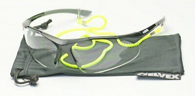 Elvex RX500™ Full Lens Magnification Safety/Reading Glasses Ballistic Rated WELR