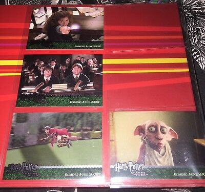 Harry Potter and the Chamber of Secrets Dealer Incentive Silver Foil Promo Cards