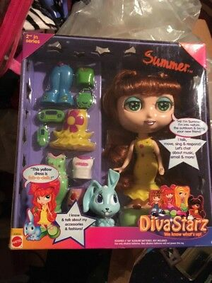Diva Starz 2001 Interactive Doll Summer