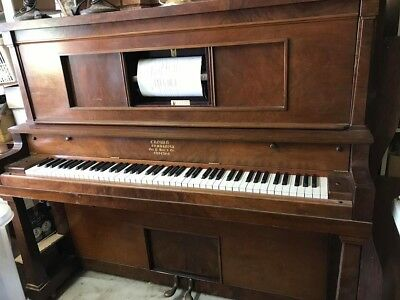 Crown Combinola Pianola/piano - in good working condition