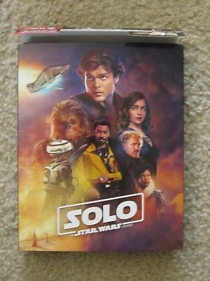 Solo A Star Wars Story 4K UHD + Blu-Ray Target Exclusive New *No Digital HD Code