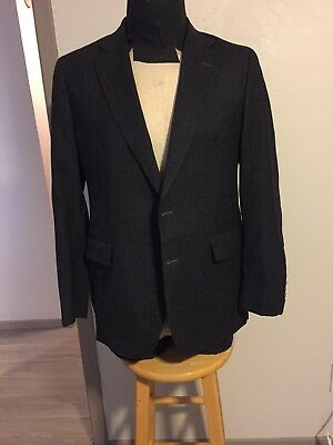 Cambridge Clothier 38S Men's Suit Jacket Wool Blazer 2 Buttons Fully Lined