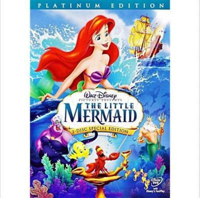 The Little Mermaid (DVD, 2006, 2-Disc, Platinum Edition)Sealed with Slip Cover