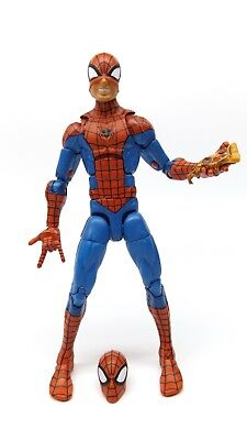 "Marvel Legends 6"" Inch Vintage Retro Classic Pizza Spider-Man Loose Complete"
