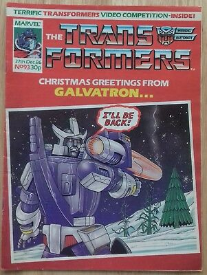 Transformers UK Comic Issue 93