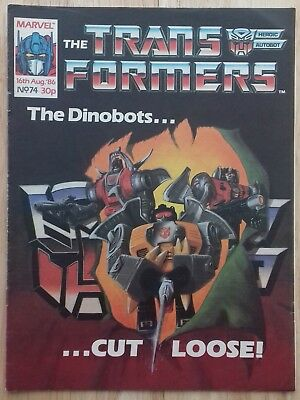 Transformers UK Comic Issue 74