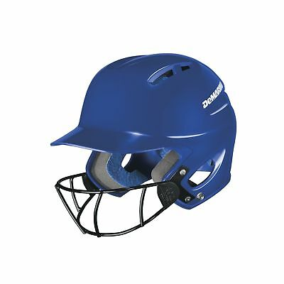 DeMarini Paradox Protege Pro Batting Helmet with Mask Royal