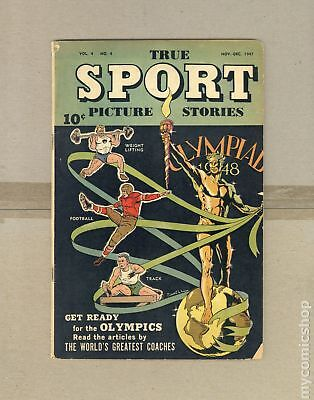 True Sport Picture Stories Vol. 4 #4 1947 GD+ 2.5