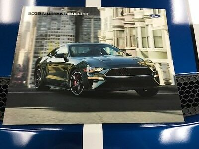 2019 Ford Mustang Brochure Bullitt Showroom Green