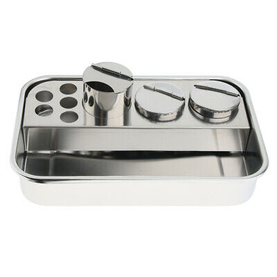 Stainless Steel Instrument Tray Medical Dental Tool Tray 3Types