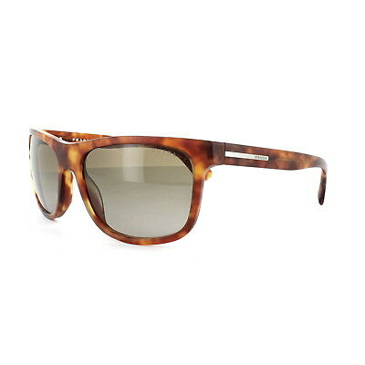 Prada Gafas de Sol 15RS TWO1X1 Mate Perchado Havana Claro Marron Degradado