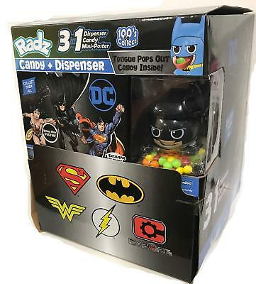 Radz DC Collectibles Candy Dispenser Sealed Box 24 Packs Wonder Woman
