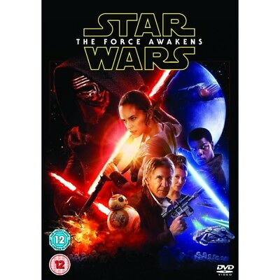 Star Wars: The Force Awakens (2015) - New {Dvd}