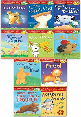 Ready for Reading Collection 10 Books Set Level 1-2 Read At Home, Learn to Read