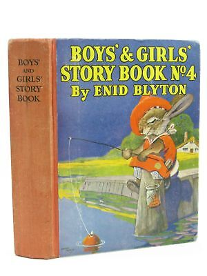 BOYS' AND GIRLS' STORY BOOK NO. 4 - Blyton, Enid. Illus. by Aris, Ernest A. & Ve