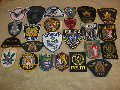 Vintge Police Patches (61)