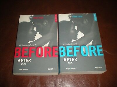 After Cycle 2 Before - Anna Todd - Lot Des 2 Tomes Grands Formats 2016