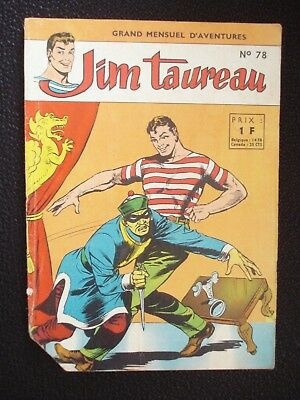 Jim Taureau N°78 Sagedition 19645