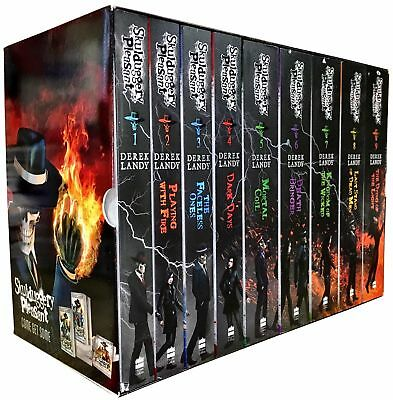 Skulduggery Pleasant Series Derek Landy 9 Books Collection Box Set (Book 1-9)