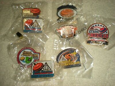 Grand American Trapshooting Association Pin Lot (8) All Different Except 2