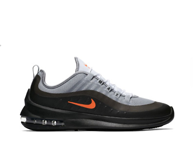 New Men's Nike Air Max Axis Shoes (AA2146-001)  Wolf Grey//Total Crimson-Black