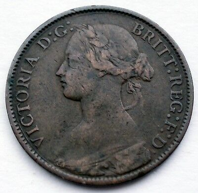 Great Britain 1 Farthing 1860 Ff7.1