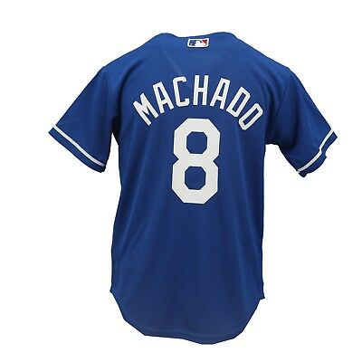 Los Angeles Dodgers MLB Genuine Kids Youth Size Manny Machado Jersey New  Tags 81ad5d6cf65