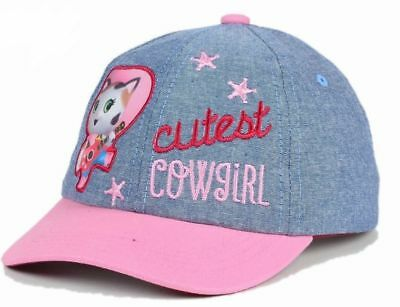 Disney Official Licensed Sheriff Callie Cutest Cowgirl Toddler Hat Cap