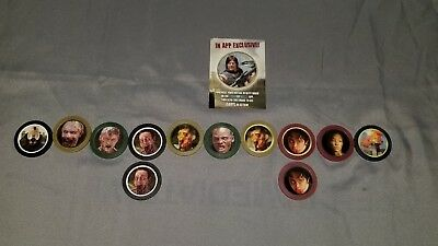 The Walking Dead Tokenz Lot of 12