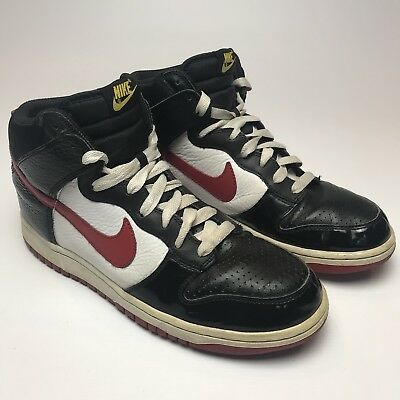 959513519d Nike Dunk High 2008 Euro Champs Germany UK 9 EUR 44 US 10 Red White Black