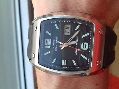 Casio VINTAGE COLLECTION WVQ-202HE-1BV WAVE CEPTOR OROLOGIO WATCH NOS MONTRE UHR