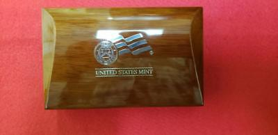 2007 American Eagle 10th Anniversary Platinum Coin Set Box And COA Only