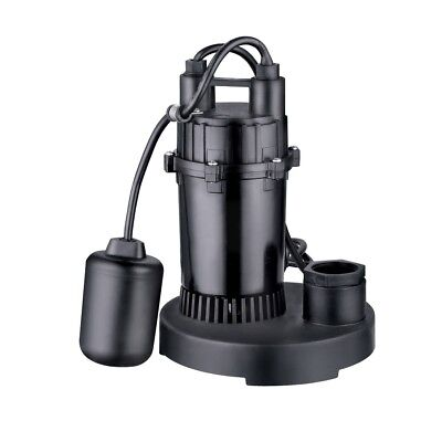Utilitech 1/3 HP Submersible Sump Pump 40-GPM  worrie free rust proof quality