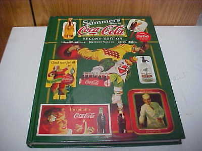 B J Summers Guide to Coca-Cola second edition hard cover book identifications