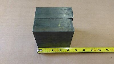 """1-3/4"""" X 4"""" 4140 Cold Rolled Bar ( 2 ) Pieces - Remnant Steel - Bar Ends - New"""