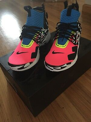 online store 8e660 d3608 Nike Air Presto Mid Utility X Acronym Size 11 In Hand