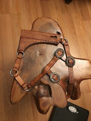 Custom Made Leather Smallsword Or Rapier Hanger With Highly Detailed Buckles