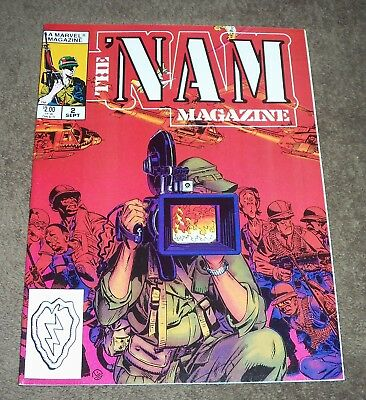 (7) The Nam #2, 4, 5, 6, 7, 8, 9 Marvel Comic Magazines UNREAD NM