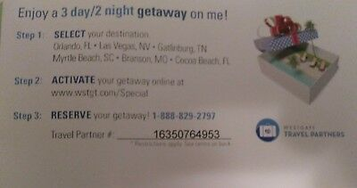 Free 3-Day/2-night Getaway Voucher