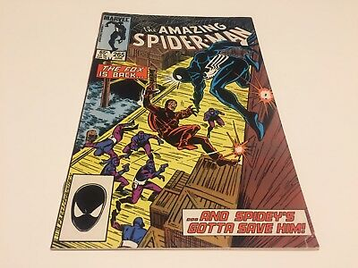The Amazing Spider-Man #265 (Jun 1985, Marvel) First Appearance Silver Sable
